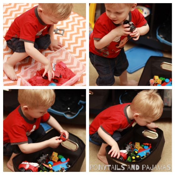 Teaching your preschooler/toddler all about colors!  This post is all about the color RED. | ponytailsandpajamas.com